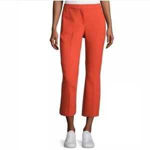 New Theory Erstina Pioneer Cropped Pants, Paprika